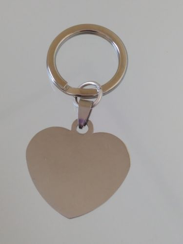 STAINLESS STEEL ENGRAVED KEY CHAIN